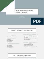 personal professional development