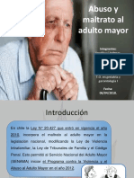 Maltrato y Abuso Al Adulto Mayor