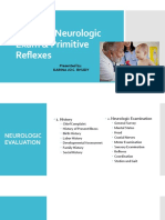 Pediatric Neurologic Exam Primitive Reflexes