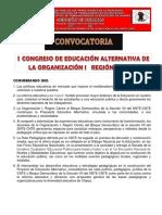i Congreso Regional de Ea Org. i Centro
