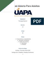(Grupo #2 Del Trabajo Final de Los Casos de Psicologia General I de La UAPA en Fecha de 15 de Abril Del 2018)