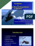 Accidentes y Lesiones Musculo-esqueleticas