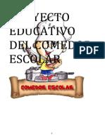 Proyecto Educativo Del Comedor Escolar