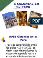 Arte Colonial en El Perú