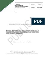 Manual Operativo - Sistema de Alimentacion y Saneamiento