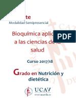 Bioquímica Predictiva y Aplicada
