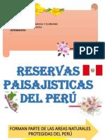 Reservas Paisajistas Del Perú