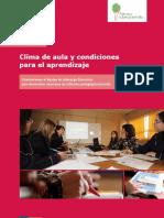 Guia 4 Clima de Aula y Condiciones Para El Aprendizaje