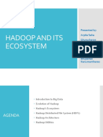 Hadoop and Its Ecosystems