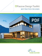 Final Passive Design Toolkit for Homes