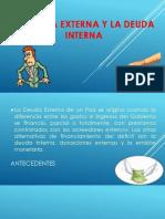 La Deuda Externa y La Deuda Interna Presentacion