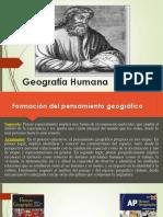 Geograf a Humana