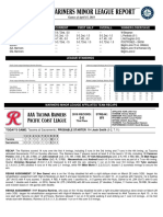 04.16.18 Mariners Minor League Report