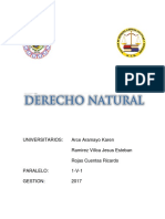 Derecho Natural - Filosofia - Feria