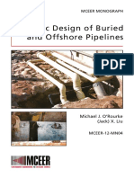 Seismic Design of Buried and Offshore Pipelines