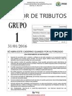 Auditor Tributos Grupo 1