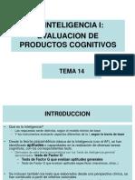 Tema 14. La Inteligencia i