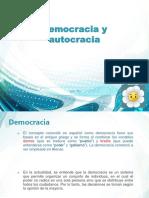 DEMOCRACIAS Y AUTOCRACIA