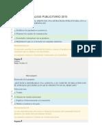 Agencia y Analisis Publicitario 2015