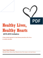 final report healthy lives healthy hearts