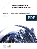 Modulo 5. Produccion Cinematografica