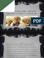 Reacciones Del Adulto Mayor Viudes y Soledad