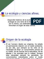 Historia y Definición de Ecología