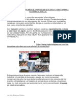 Fenomenos Naturales ANA M 6030 CMC
