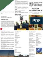 Triptico electromecanica-2013