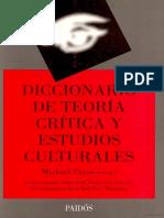 PAYNE MICHAEL - Diccionario de Teoria Critica y Culturales
