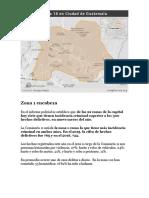 Zona Peligrosa de Guatemala