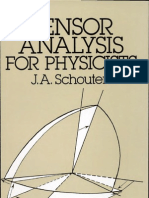 Tensor Analysis for Physicists