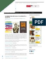 10 Libros Para Regalar a Un Aspirante a Escritor - Librópatas