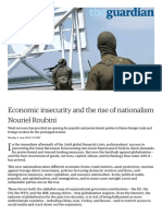 Economic Insecurity and the Rise of Nationalism _ Nouriel Roubini _ Business _ the Guardian