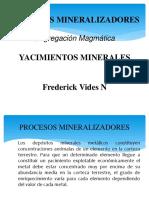 Exposicion Segregacion Magmatica
