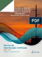 NDU 013 - Critérios Para a Conexão de Acessantes de GD Ao Sistema de Distribuição Da Energisa - Conexão Em BT V3
