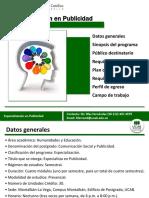 Especializacion Publicidad - V1-2017