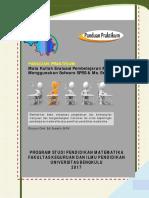 Panduan Praktikum Evaluasi Pembelajaran Matematika-81 Examplar