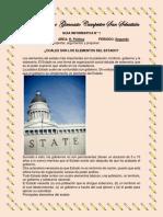 9° GUIA POLITICA ELEMENTOS DEL ESTADO