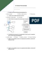 1er Examen Neuroanatomía