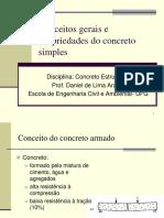 Aula 1_Conceitos Gerais e Propriedades Do Concreto Simples