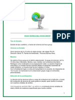 EJEMPLO de Ficha Tecnica Focus Group