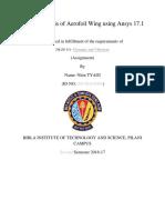 Assignment_DynamicVibration Nitin TYAGI-2016da30501