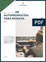 Landr Guia de Autopromocion Para Musicos Esp