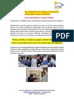 Presentacion Del Curso Energia Solar Aislada a La Red