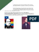 Andrés Bello Gran Político e Intelectual Que Nació El 29 de Noviembre de 1781 en Caracas