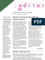 The Canberra Editor September 2010
