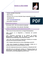 CURRICULUM VITAE Heriana Diaz Asistente Dentalll