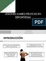 Lesiones Lumbo-pélvicas en Deportistas