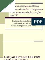 Aula 6_Dimensionamento à flexão simples de seções retangulares com armadura dupla e seções T.pdf